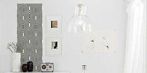 Room, Interior design, Floor, White, Style, Wall, Black-and-white, Monochrome photography, Black, Interior design,