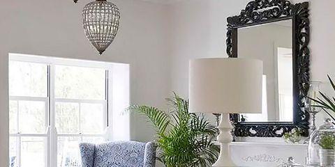 Room, Interior design, Home, Wall, White, Floor, Couch, Interior design, Living room, Light fixture,