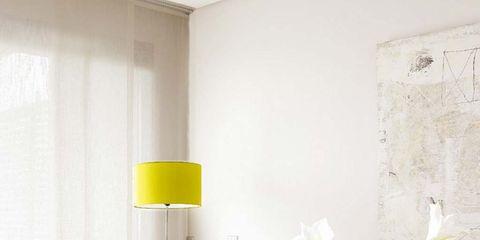 Room, Interior design, Yellow, Wall, Petal, Interior design, Pillow, Throw pillow, Home, Cushion,