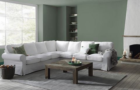 Furniture, Living room, Couch, Room, Coffee table, Interior design, Sofa bed, Floor, Table, Loveseat,