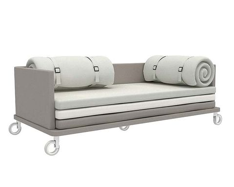 Product, Line, Black, Rectangle, Grey, Beige, Metal, Material property, Couch, Silver,