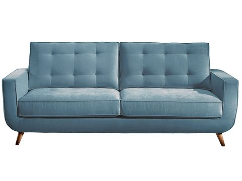 Blue, Brown, Furniture, Couch, White, Style, Outdoor furniture, Rectangle, Black, Living room,