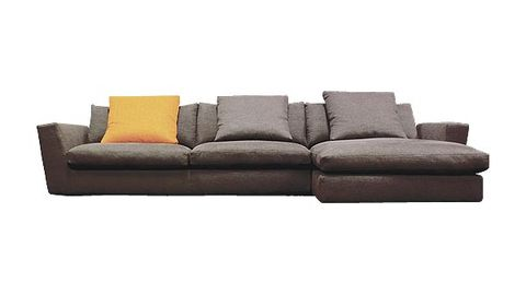Brown, Couch, Furniture, Living room, Grey, Rectangle, Beige, studio couch, Design, Outdoor furniture,