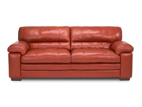 Brown, Couch, Furniture, Red, Living room, Comfort, Interior design, Tan, Hardwood, Rectangle,