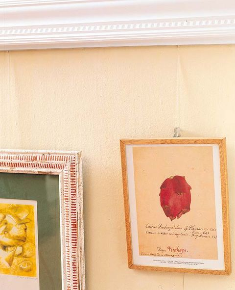 Wall, Paint, Art, Beige, Rectangle, Peach, Visual arts, Coquelicot, Molding, Creative arts,
