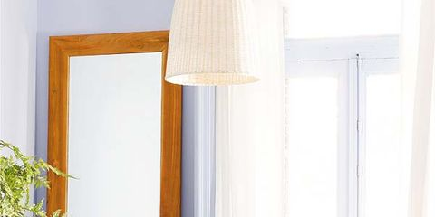 Wood, Room, Table, Interior design, Furniture, Lampshade, Teal, Lamp, Turquoise, Interior design,