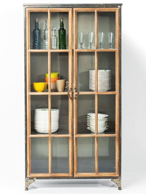 Shelf, Shelving, Display case, Furniture, China cabinet, Hutch, Cabinetry, Bookcase, Cupboard, Glass,