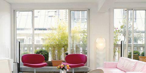 Room, Floor, Interior design, Architecture, Flooring, Furniture, Office chair, Couch, Wall, Interior design,