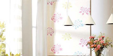 Room, Interior design, Textile, Tablecloth, Furniture, Linens, Interior design, Wall, Drawer, Home,