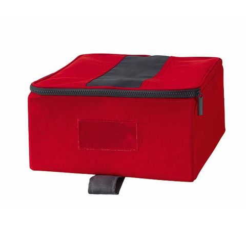 Red, Carmine, Maroon, Rectangle, Baggage, Pocket, Home accessories, Plastic,
