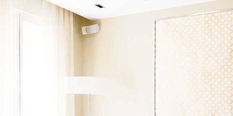 Interior design, Room, Furniture, Floor, Living room, Interior design, Pink, Wall, Ceiling, Flooring,
