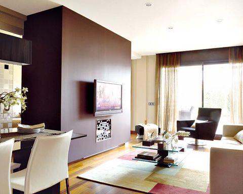 Interior design, Room, Floor, Flooring, Ceiling, Wall, Furniture, Interior design, Wood flooring, Living room,