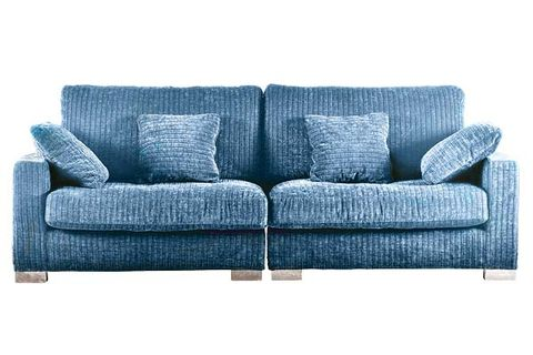Blue, White, Furniture, Couch, Style, Black, Rectangle, Grey, studio couch, Design,
