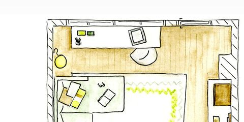 Yellow, Line, Rectangle, Parallel, Illustration, Drawing, Square, Sketch,