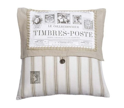 Product, Textile, Cushion, Throw pillow, Linens, Font, Pillow, Home accessories, Beige, Stitch,