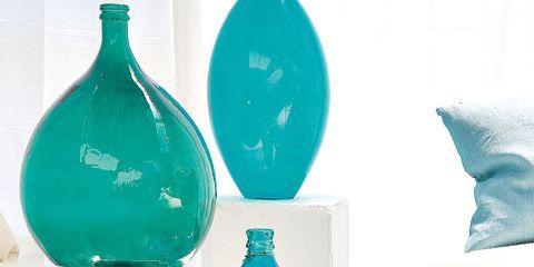 Blue, Fluid, Liquid, Bottle, Aqua, Teal, Turquoise, Drinkware, Glass, Throw pillow,