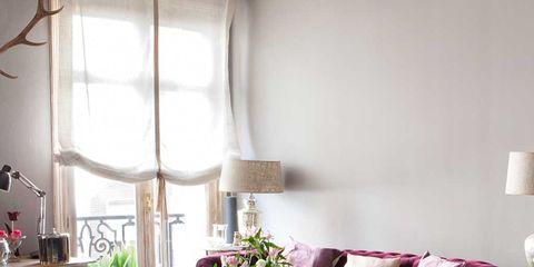 Room, Interior design, Floor, Furniture, Home, Flooring, Table, Living room, Interior design, Lamp,