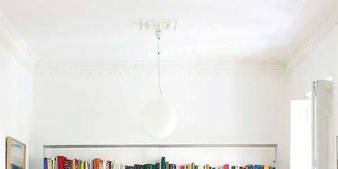 Room, Interior design, Furniture, Wall, Shelving, Flooring, Ceiling, Floor, Interior design, Shelf,