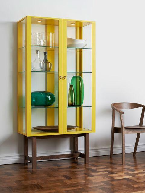 Wood, Glass, Floor, Shelving, Flooring, Furniture, Shelf, Teal, Display case, Still life photography,