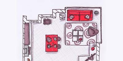 Red, Magenta, Artwork, Parallel, Rectangle, Illustration, Drawing, Square, Machine, Sketch,