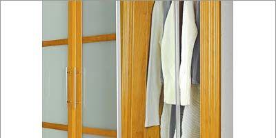 Yellow, Textile, Fixture, Closet, Linens, Wardrobe, Tan, Towel, Clothes hanger,