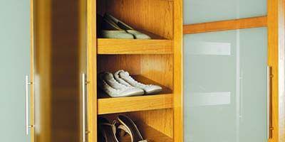 Yellow, Room, Shelf, Property, Shelving, White, Wall, Closet, Fixture, Tan,