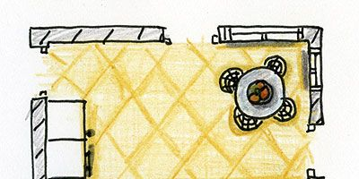 Yellow, Line, Rectangle, Illustration, Drawing, Graphics,