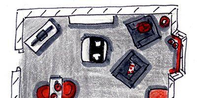 Motor vehicle, Automotive design, Automotive tail & brake light, Automotive lighting, Automotive parking light, Automotive exterior, Line, Artwork, Art, Parallel,