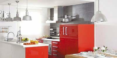 Wood, Room, Floor, White, Flooring, Kitchen, Furniture, Interior design, Countertop, Table,