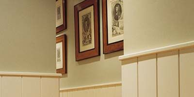 Wood, Property, Room, Wall, Wood stain, Paint, Molding, Picture frame, Pattern, Grey,