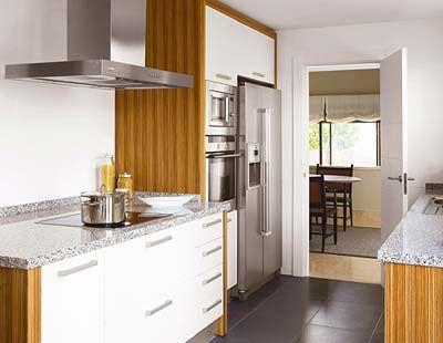 Color para los muebles de la cocina