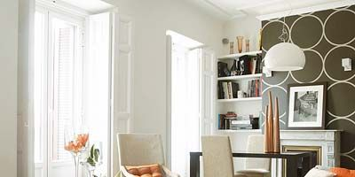 Room, Interior design, Wood, Furniture, Table, Interior design, Orange, Home, Glass, Living room,