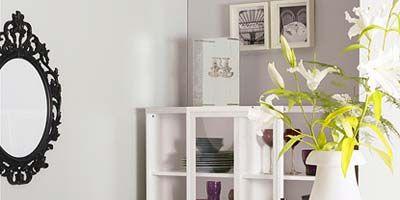 Room, Interior design, Wall, White, Furniture, Interior design, Table, Home, Porcelain, Shelving,