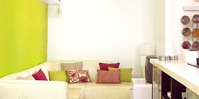 Room, Interior design, Yellow, Property, Floor, Wall, Couch, Furniture, Home, Interior design,