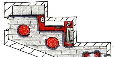 Red, Line, Parallel, Illustration, Drawing, Graphics, Sketch, Artwork,