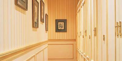 Property, Room, Interior design, Ceiling, Floor, Flooring, Amber, Wood stain, Molding, House,