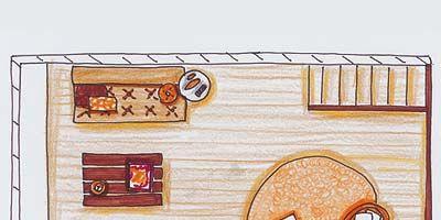 Line, Art, Cartoon, Artwork, Rectangle, Home, Paint, Illustration, Arch, Drawing,