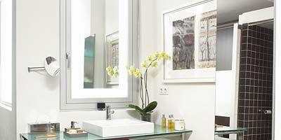 Room, Interior design, Plumbing fixture, Property, Architecture, Tap, Bathroom sink, Tile, Wall, Countertop,