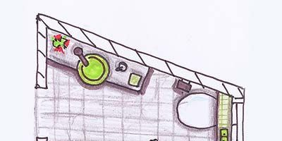 Line, Automotive lighting, Parallel, Artwork, Automotive window part, Illustration, Drawing, Graphics, Bus, Painting,