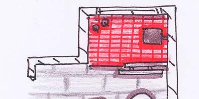 Red, Line, Artwork, Illustration, Rectangle, Drawing, Circle, Sketch, Painting, Graphics,