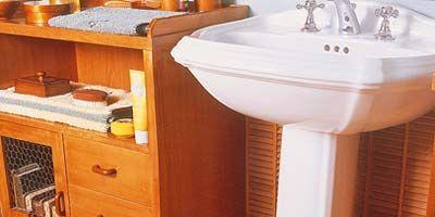 Wood, Bathroom sink, Room, Property, Floor, Plumbing fixture, Hardwood, Flooring, Wood stain, Drawer,