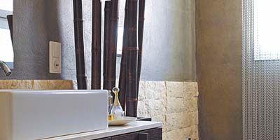 Room, Interior design, Plumbing fixture, Bathroom sink, Architecture, Property, Wall, Tap, Interior design, Sink,