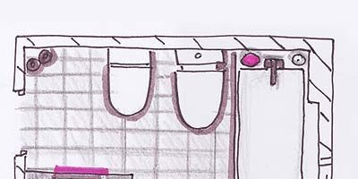 Product, Line, Purple, Parallel, Magenta, Rectangle, Illustration, Drawing, Plan, Sketch,