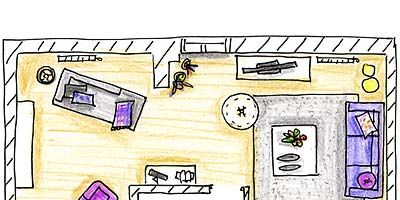 Purple, Line, Parallel, Lavender, Magenta, Violet, Rectangle, Illustration, Machine, Office equipment,