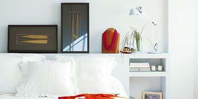 Room, Interior design, Property, Wall, Textile, Orange, Bedding, Linens, Bed sheet, Bedroom,