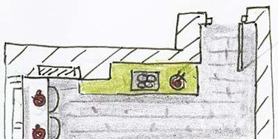 Green, White, Line, Parallel, Rectangle, Artwork, Illustration, Drawing, Plan, Diagram,