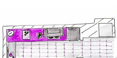 Pink, Purple, Line, Magenta, Parallel, Rectangle, Drawing, Plan, Diagram, Sketch,