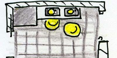 Yellow, Line, Pattern, Rectangle, Parallel, Artwork, Illustration, Design, Drawing, Painting,