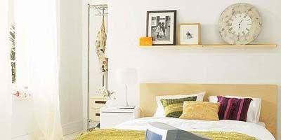 Room, Yellow, Interior design, Property, Textile, Wall, Linens, Bedding, Home, Interior design,