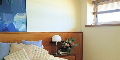 Wood, Room, Window, Interior design, Property, Bedding, Textile, Bed, Wall, Bed sheet,